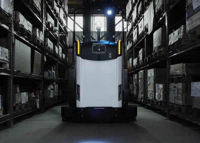 埃力租赁宣布引进一款全新的前移式自动导引叉车