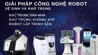 Robot vệ sinh và khử trùng: vũ khí mới trong công cuộc phòng chống Coronavirus