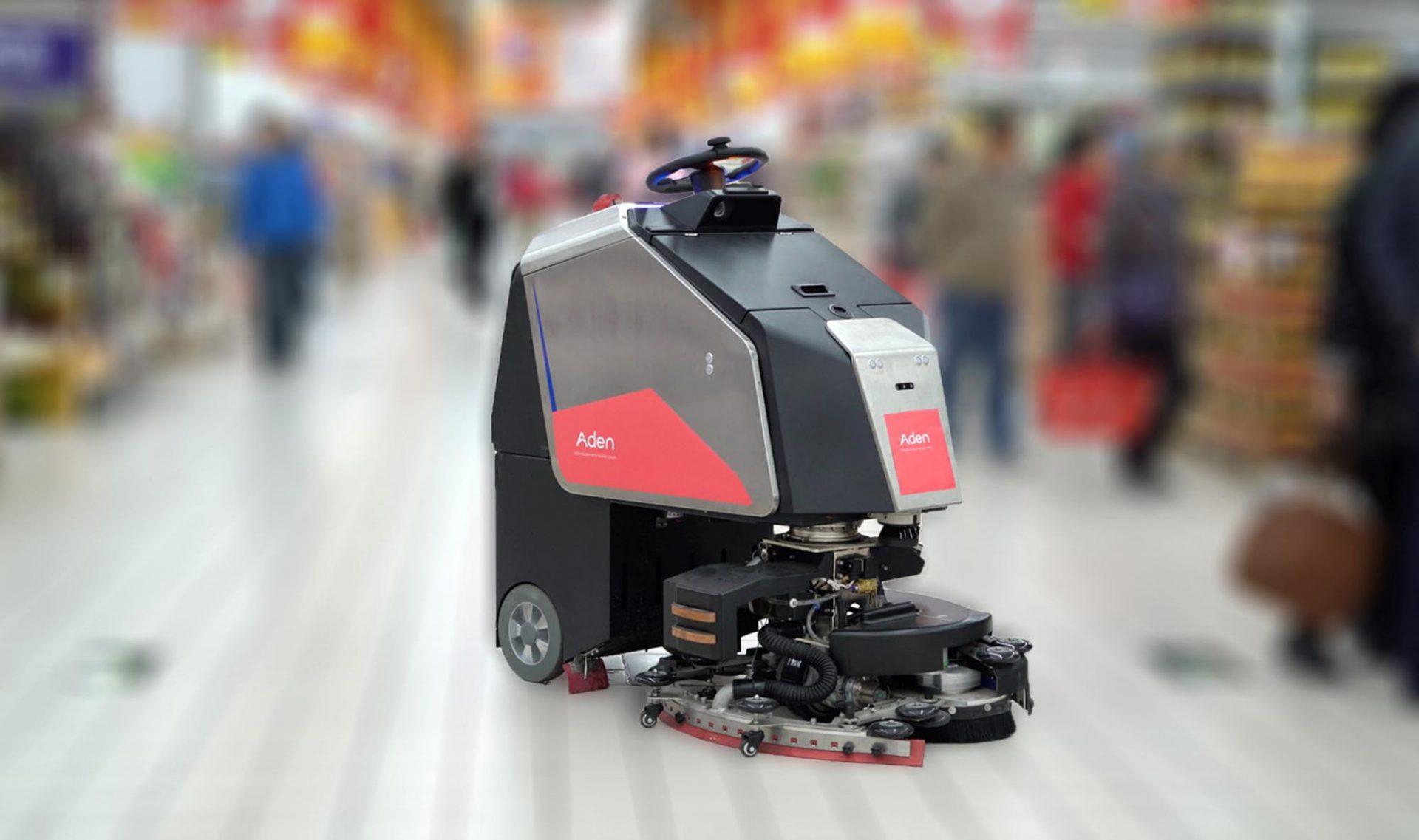 挨顿清洁服务清洁机器人解决方案