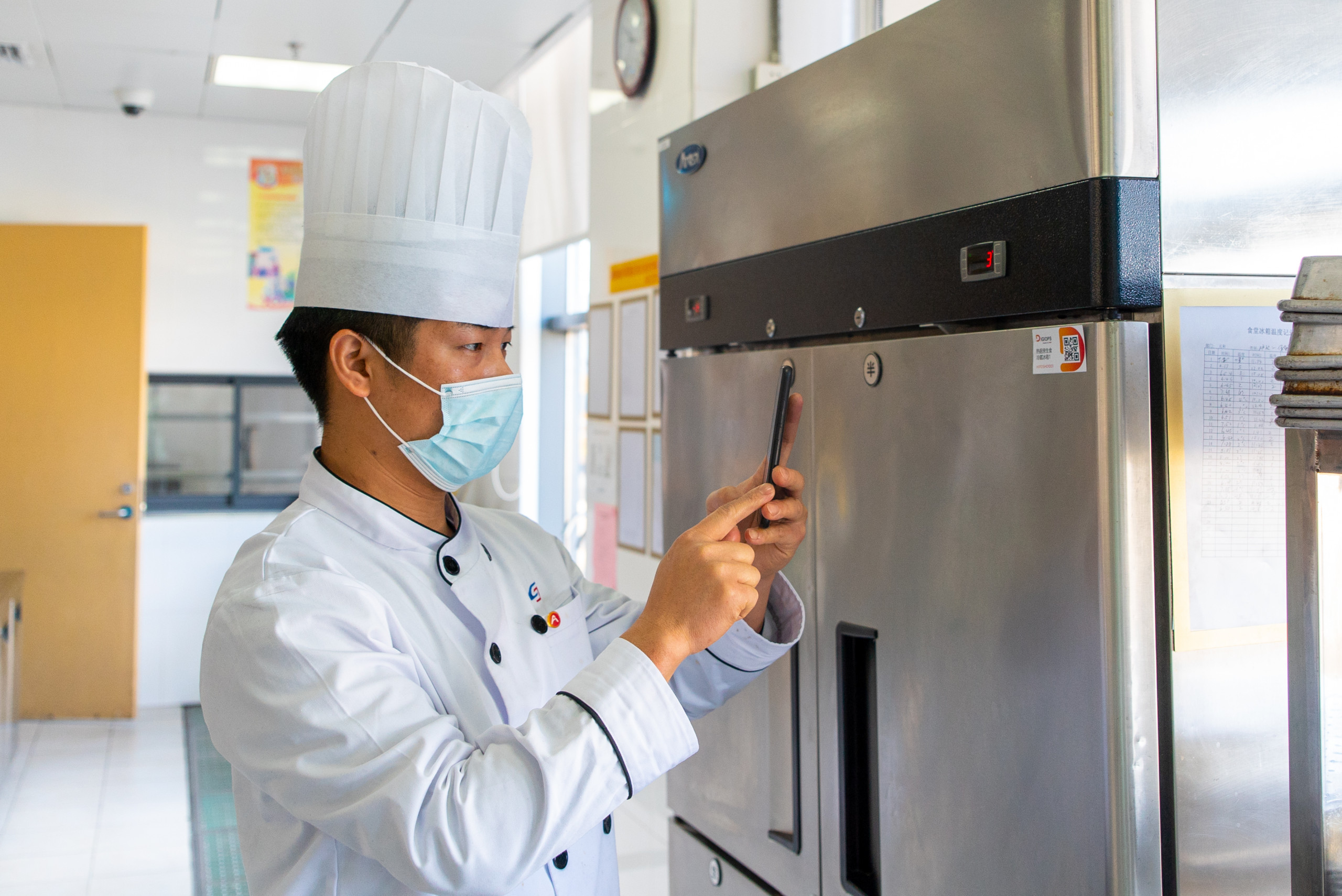 Aden Group digitalized IFM food service DigiOps app at Suzhou Rail Transit