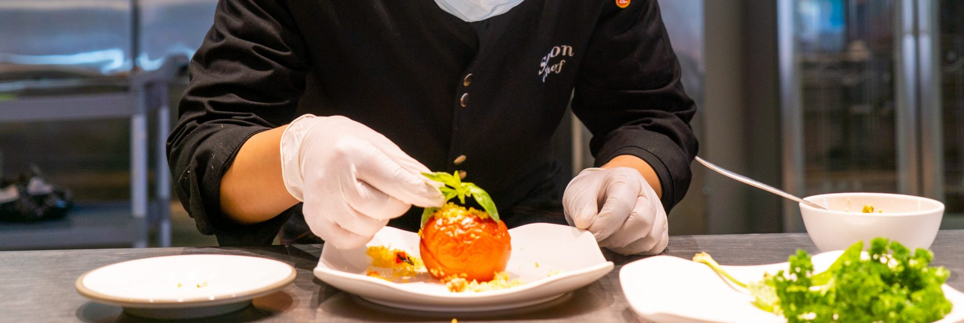 corporate high-end catering solution and education high-end catering