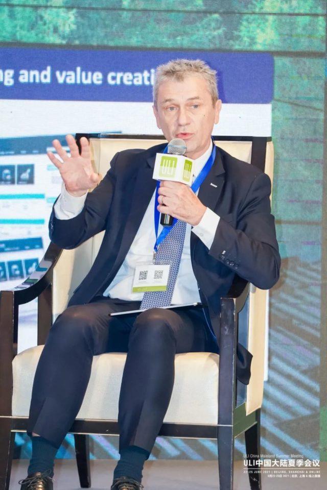 埃顿的首席创新官Philippe Obry参加了2021 (ULI)城市土地学会的中国大陆夏季会议