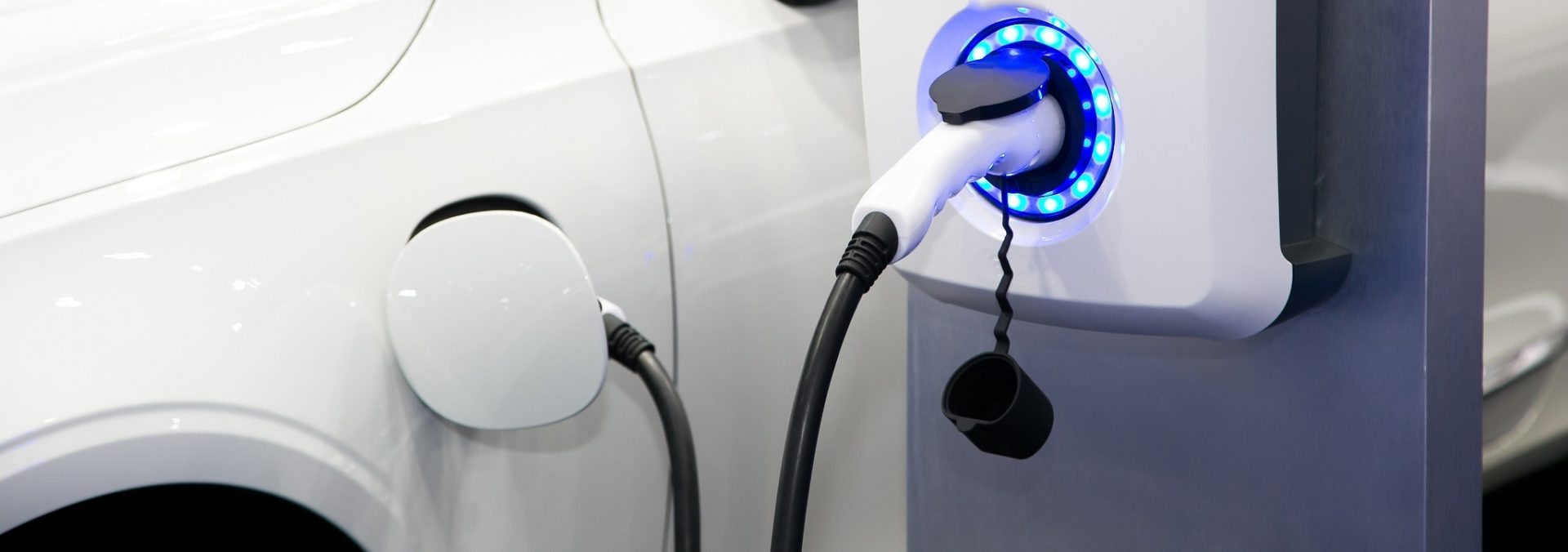 Electric vehicle charging station EV charging point EV solutions