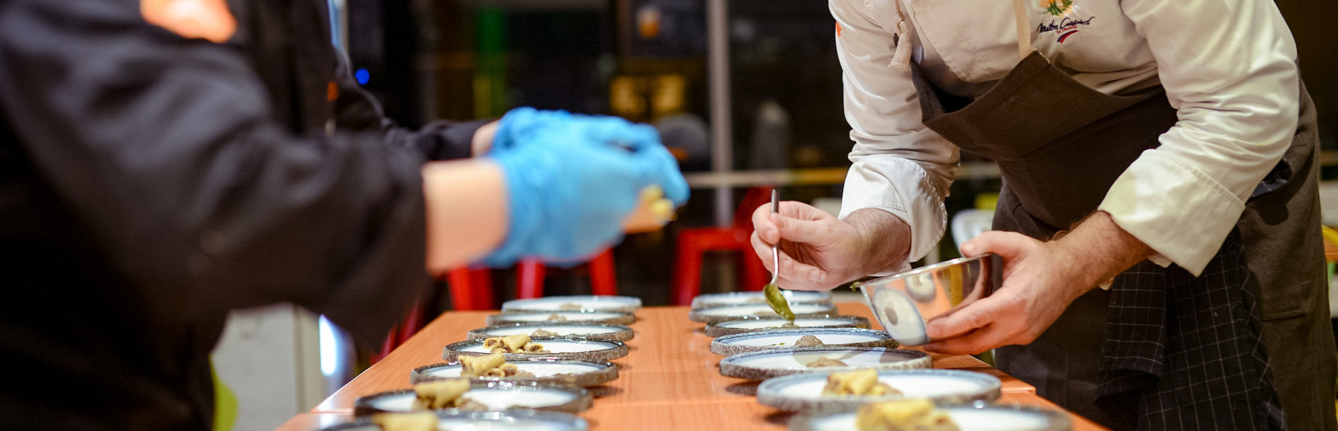 high-end catering and food service solutions AdenEdge