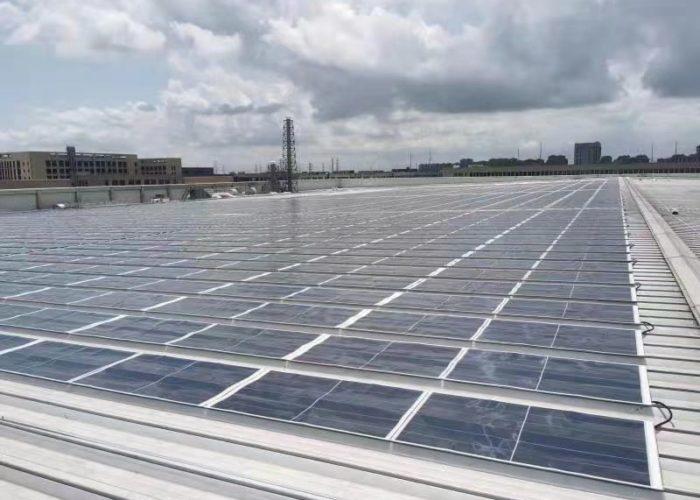 イリソ電子工業(南通)におけるオンサイト型太陽光パネルの導入をサポート