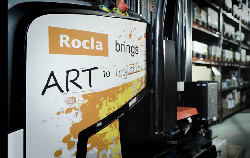 ROCLA's new automated reach truck (ART)