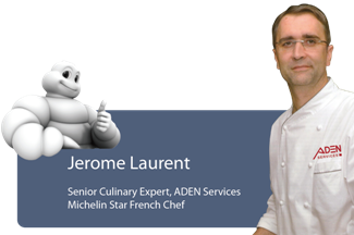 ADEN Services foodservice michelin chef jerome laurent